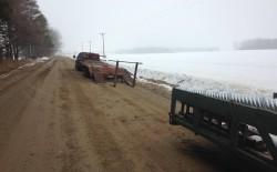 Calandrino Driveway beginning